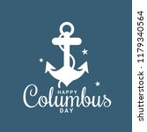 illustration of columbus day... | Shutterstock .eps vector #1179340564