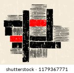 abstract geometric art in the... | Shutterstock .eps vector #1179367771