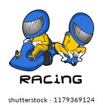karting and mini moto draw | Shutterstock .eps vector #1179369124