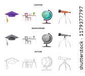 vector design of education and... | Shutterstock .eps vector #1179377797