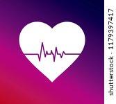 Cardiogram Icon Vector...