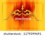illustration of lord rama... | Shutterstock .eps vector #1179399691