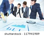business objects on background... | Shutterstock . vector #117941989