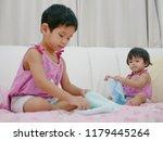 Little Asian Baby Girl  18...