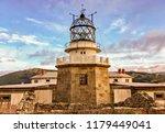 view of lighthouse in estaca de ... | Shutterstock . vector #1179449041