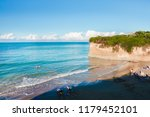 sidari beach  corfu island ...   Shutterstock . vector #1179452101