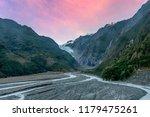 franz josef glacier in southern ...   Shutterstock . vector #1179475261