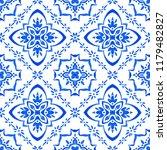 talavera pattern.  azulejos... | Shutterstock .eps vector #1179482827