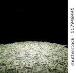 money background from dollars... | Shutterstock . vector #117948445