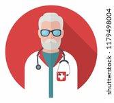 vector medical icon doctor. a... | Shutterstock .eps vector #1179498004