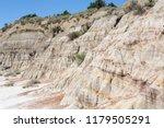 the little missouri river in... | Shutterstock . vector #1179505291