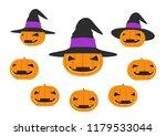 halloween pumpkin  jack o...   Shutterstock .eps vector #1179533044