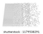 big data visualization. machine ... | Shutterstock . vector #1179538291
