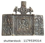traditional orthodox icon of...   Shutterstock . vector #1179539314
