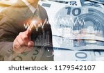 business finance with crypto... | Shutterstock . vector #1179542107
