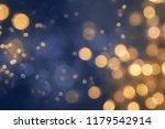 christmas light background. ... | Shutterstock . vector #1179542914