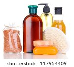 set for care of a body isolated ... | Shutterstock . vector #117954409