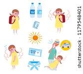 an image set of preventive... | Shutterstock .eps vector #1179548401