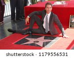 Small photo of LOS ANGELES - SEP 13: Eric McCormack at the Eric McCormack Star Ceremony on the Hollywood Walk of Fame on September 13, 2018 in Los Angeles, CA