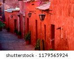 typical colorful colonial...   Shutterstock . vector #1179565924