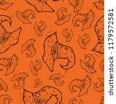 halloween event seamless...   Shutterstock .eps vector #1179572581