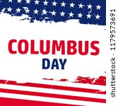 happy columbus day. the trend... | Shutterstock .eps vector #1179573691