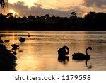 Sunset Lake Monger  Perth...