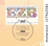 germany circa 1998 a stamp... | Shutterstock . vector #1179625381