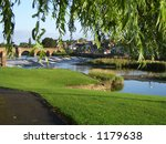The River Nith At Dumfries ...