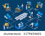 industrial augmented reality... | Shutterstock .eps vector #1179654601