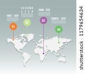 world crisis  infographic image ... | Shutterstock .eps vector #1179654634