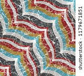 geometrical line and batik... | Shutterstock .eps vector #1179671851