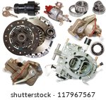 set of automotive spare parts.... | Shutterstock . vector #117967567