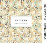 scandinavian seamless pattern.... | Shutterstock .eps vector #1179681781