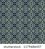 seamless vector pattern in bali ... | Shutterstock .eps vector #1179686437