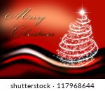 christmas background for your... | Shutterstock . vector #117968644