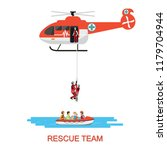 Rescue Team With Rescue...