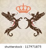 Royal background - stock vector