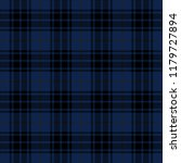navy blue and black tartan... | Shutterstock .eps vector #1179727894