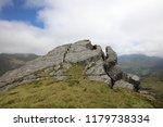 knoydart scottish munros ... | Shutterstock . vector #1179738334