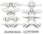 vector vintage decorative...   Shutterstock .eps vector #117975949