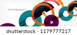 modern geometrical abstract... | Shutterstock .eps vector #1179777217