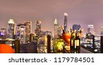 bangkok city view point from... | Shutterstock . vector #1179784501