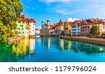 scenic summer aerial panorama...   Shutterstock . vector #1179796024