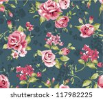 classic wallpaper seamless... | Shutterstock .eps vector #117982225
