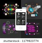 infographics templates  vector... | Shutterstock .eps vector #1179823774