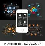 infographics templates  vector... | Shutterstock .eps vector #1179823777