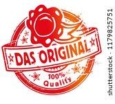 rubber stamp the original  .  ... | Shutterstock .eps vector #1179825751