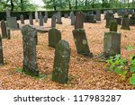 Different Old Tombstones On A...