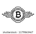bitcoin  abstract silver symbol ...   Shutterstock .eps vector #1179863467